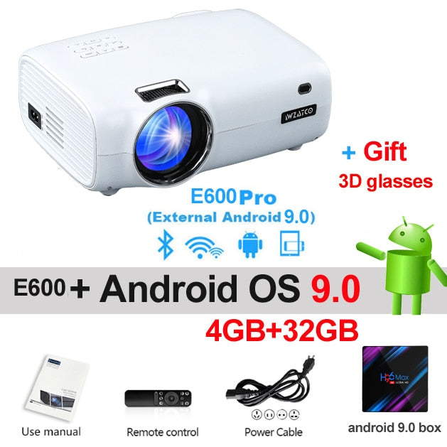 Smart Portable LED Projector