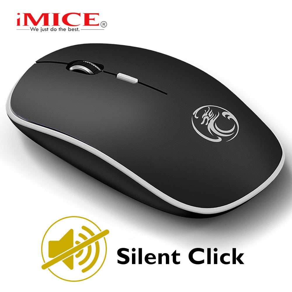 Silent Wireless Mouse Computer