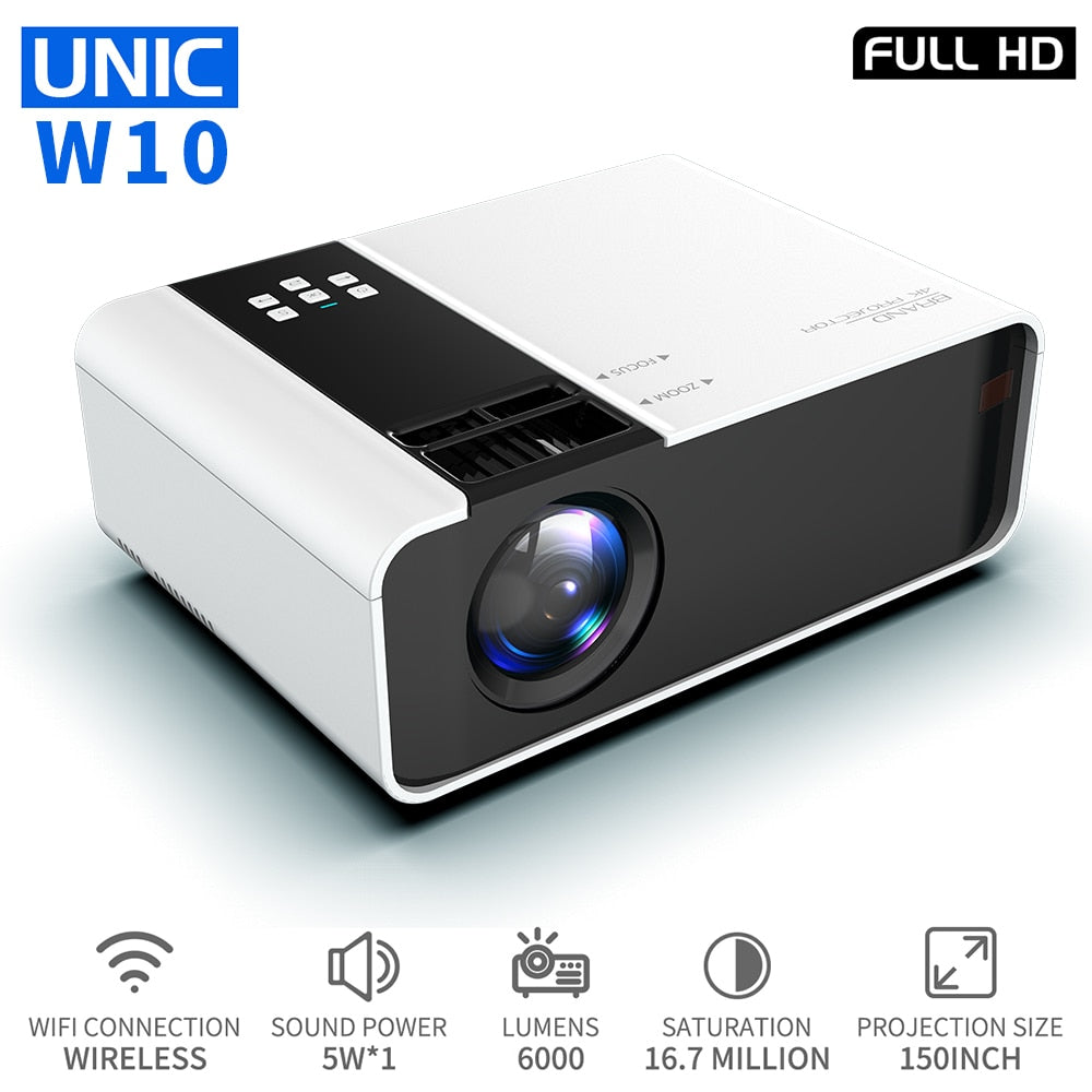 Projector 1080P Full HD HDMI