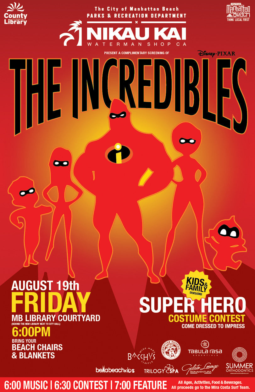 The Incredibles - Summer Movies Series
