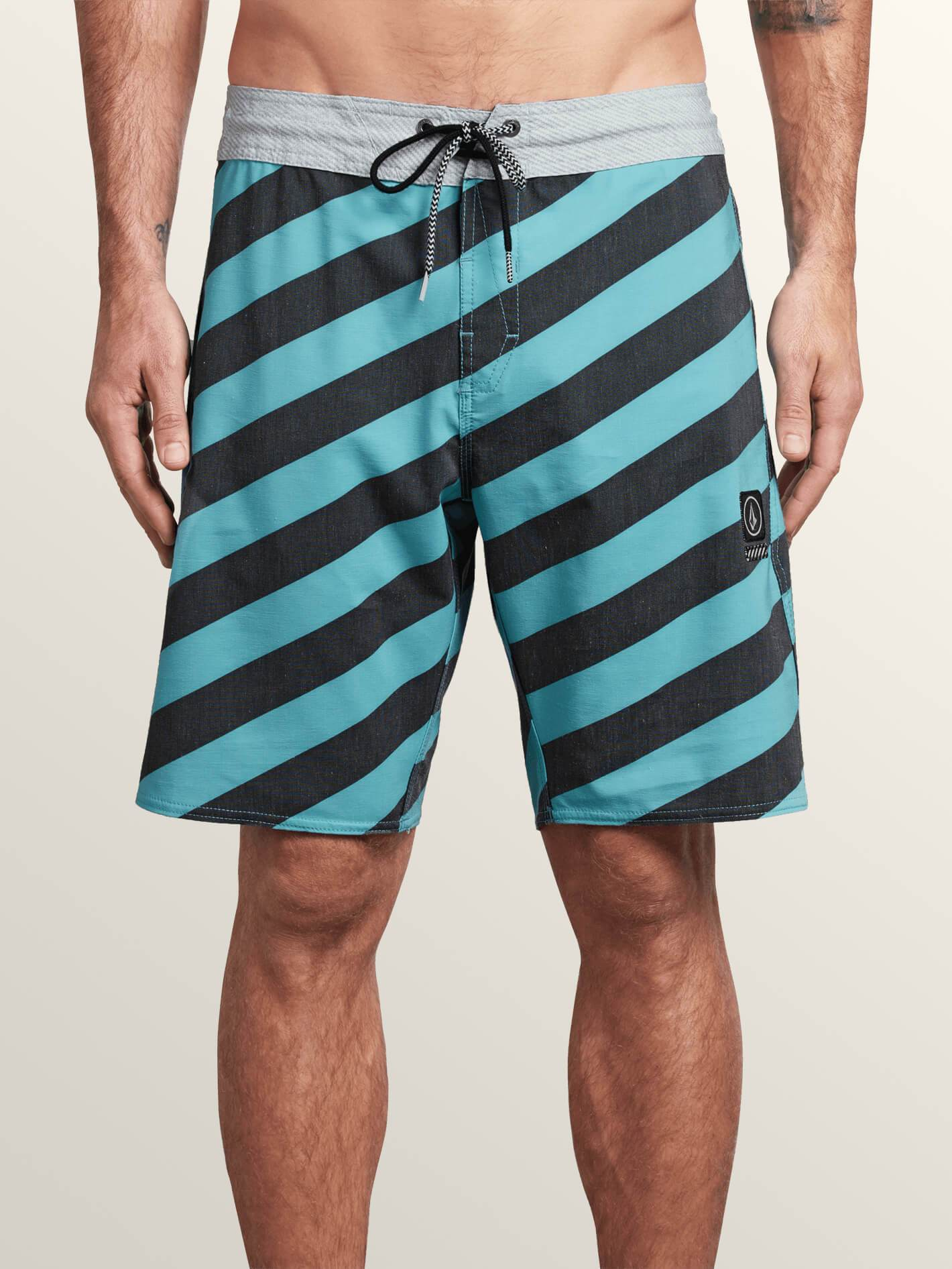 Volcom - Stripey Stoney - Blue Bird