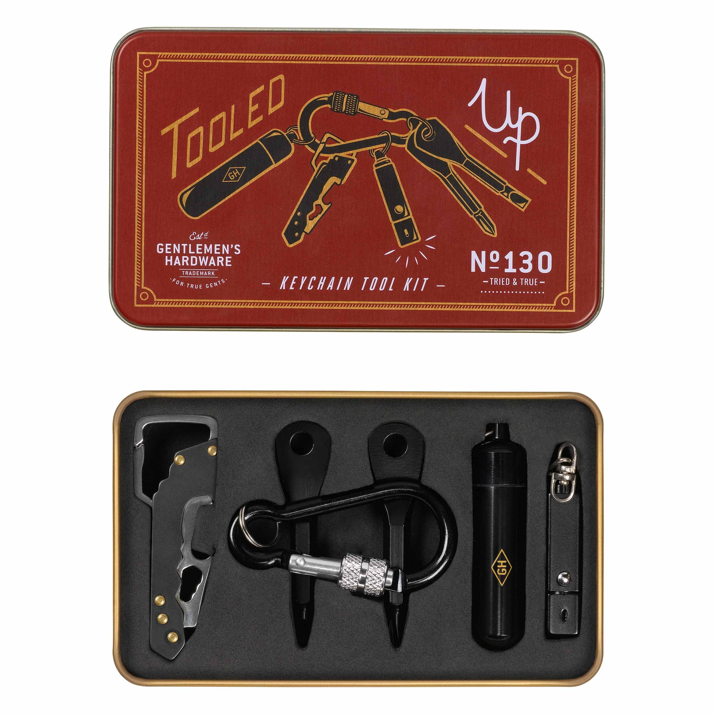 Gentleman's Hardware - Key Chain Tool Kit