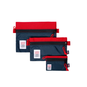 Topo Designs - Accessory Bags - Navy/Red