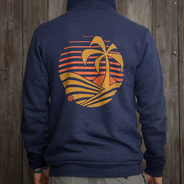 Nikau Kai - Stay Salty - Zip Up Hoodie