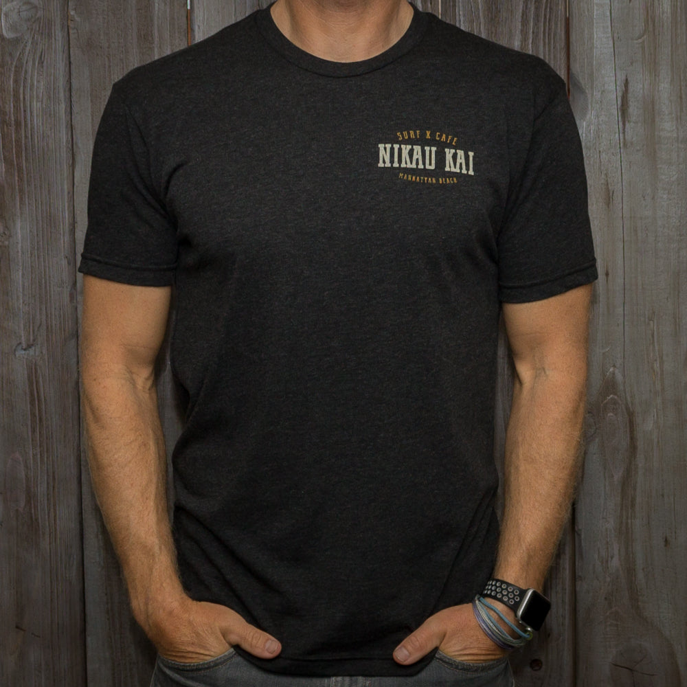 Nikau Kai - Living Dreams Tee - Asphalt