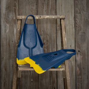 Dafin - Navy / Yellow