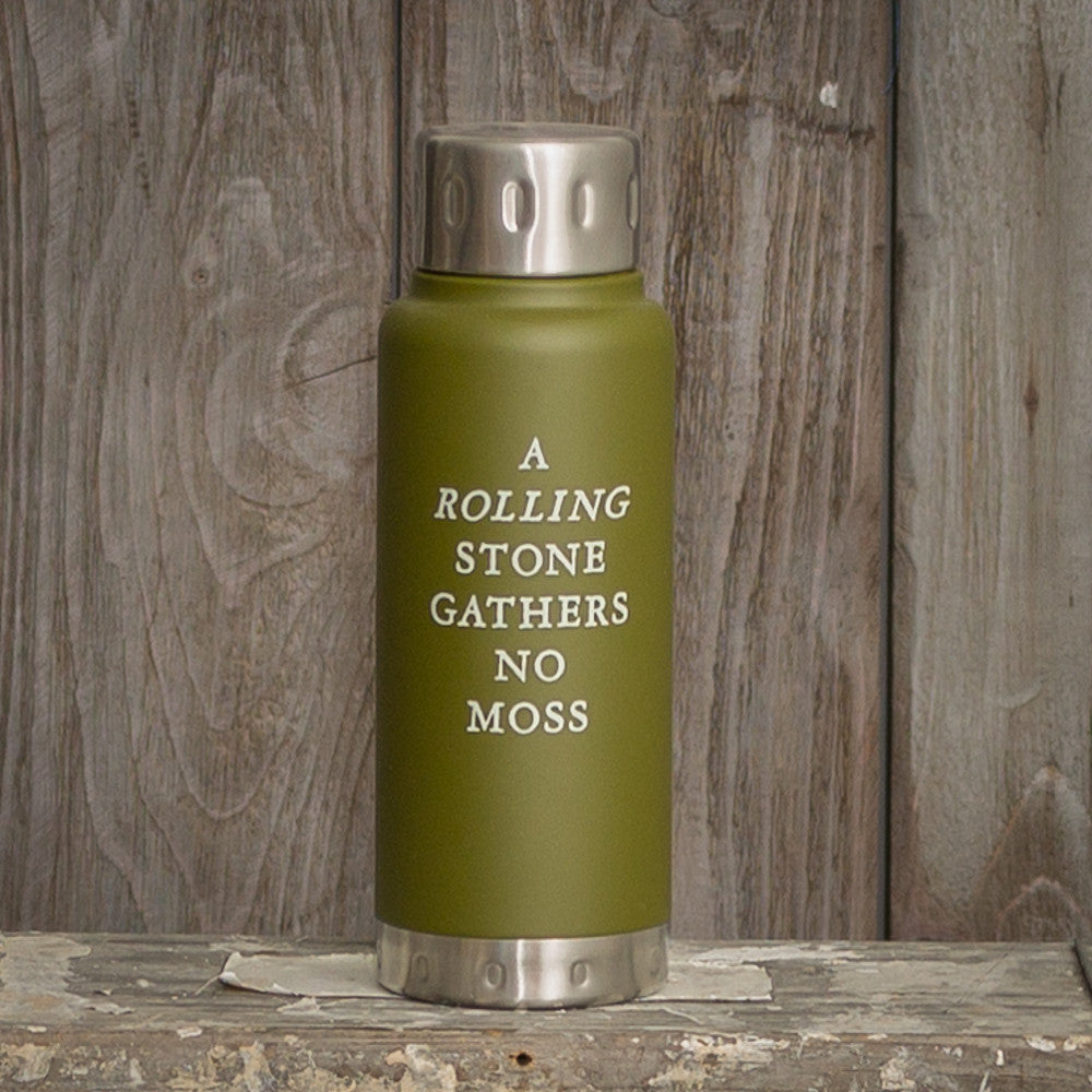 Izola - A Rolling Stone Water Bottle - 10oz