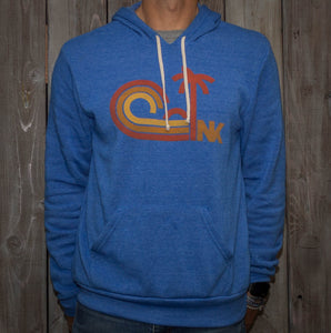 Nikau Kai - Sundown - Pullover Hoodie - Royal