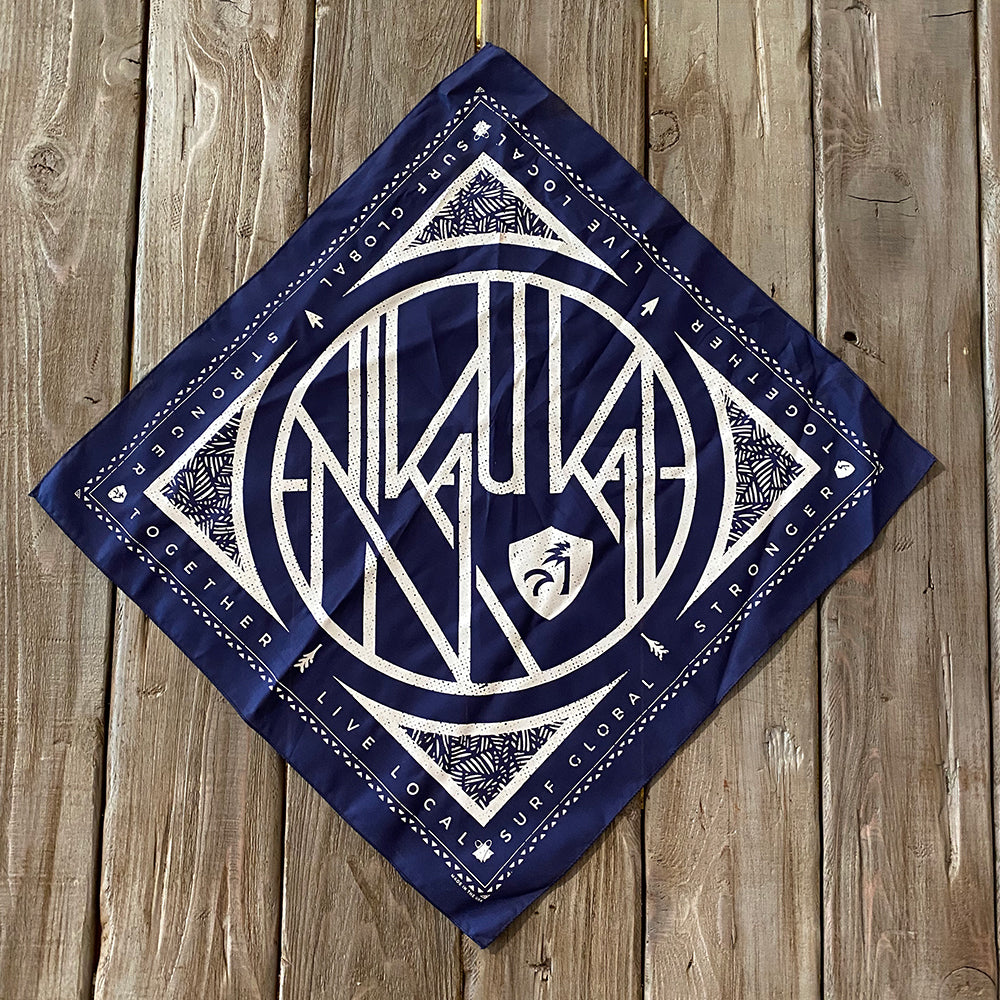 Off Shore Bandana - Navy