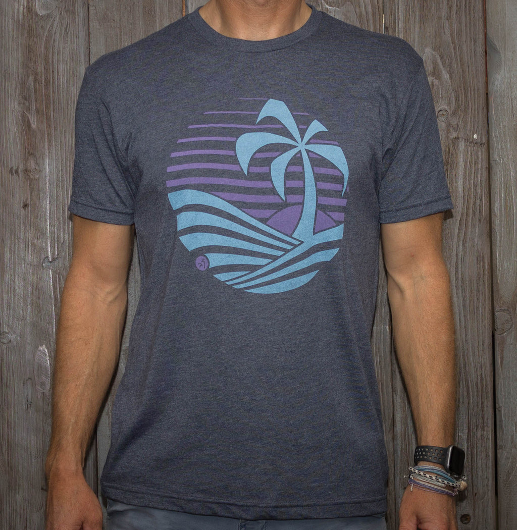 Sunset Tee - Navy