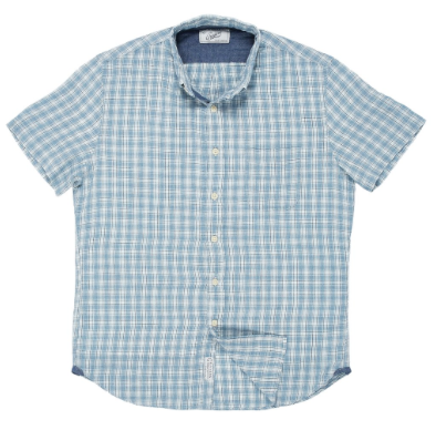 Grayers - Grove Mini Check Heather Summer Twill