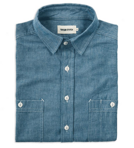 Taylor Stitch - The California in Blue Everyday Chambray