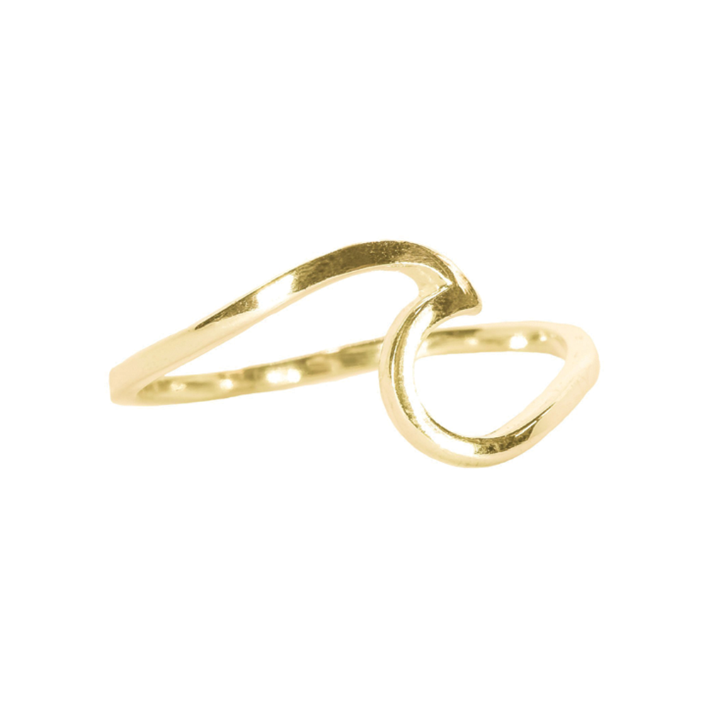 Pura Vida - Wave Ring Gold