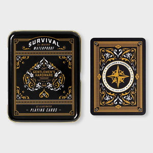 Gentleman's Hardware - Survival Playing Cards