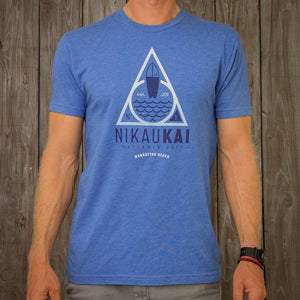 Nikau Kai - Safe Harbor Tee - Royal