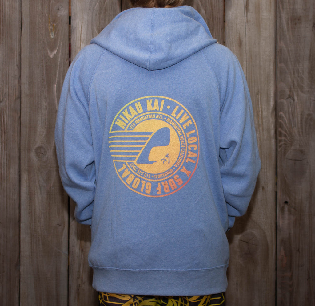 Party Wave - Zip Hoodie - Grom