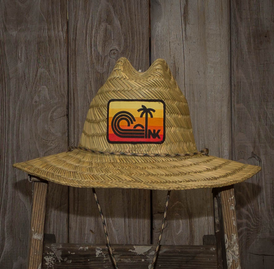 Nikau Kai - Sundown Patch - Straw Hat