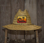 Sundown Patch - Straw Hat