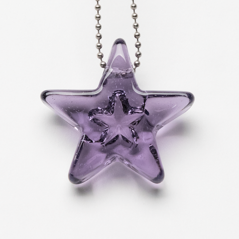 CORINNE WINTERS PENDANT PURPLE POTION