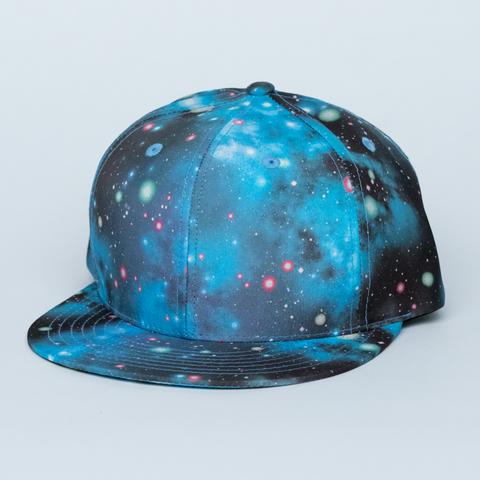BLUE GALAXY HAT