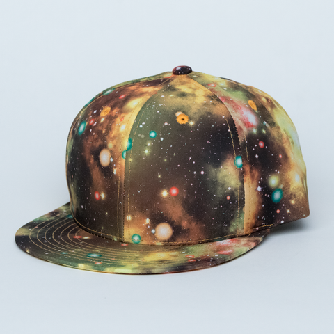 YELLOW GALAXY HAT