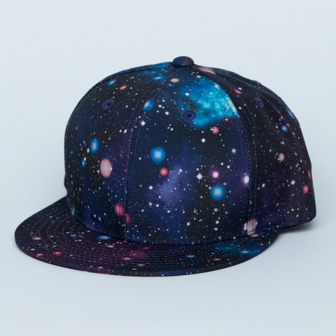 DARK BLUE GALAXY HAT