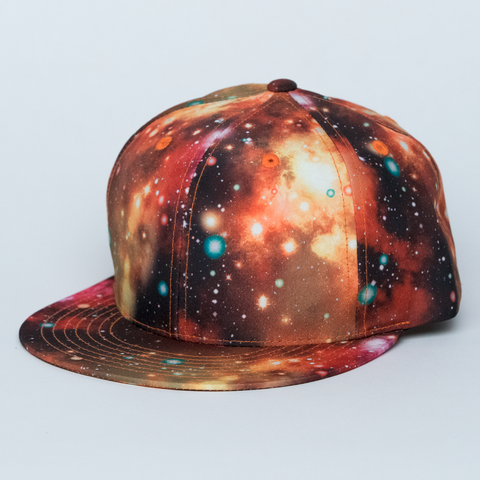 RED GALAXY HAT