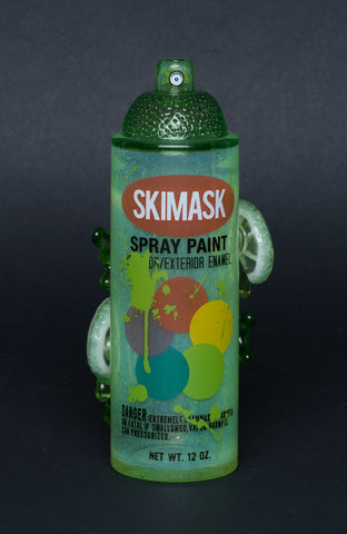 SKI MASK/LYONS LIME SPRAYCAN