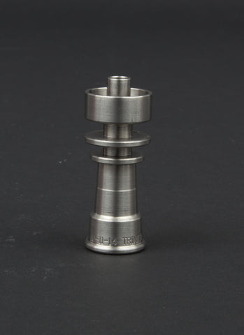Highly Educated Domeless TrinTi nail