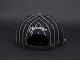 MADE PINSTRIPE HAT STRAP BACK
