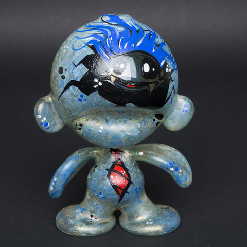 LUDA / ROCKETBOY HAND PAINTED GLASS MUNNY