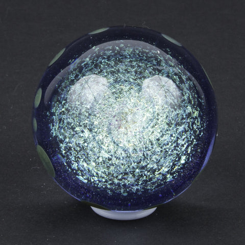 DICRO GLASS MARBLE WITH DOTS