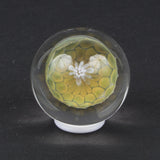 SASHA HESS FUMED HONEYCOMB GLASS MARBLE
