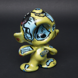 LUDA / BUNNY XLV HAND PAINTED GLASS MUNNY