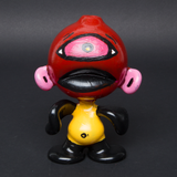 LUDA / YAMS HAND PAINTED FUNCTIONAL GLASS MUNNY