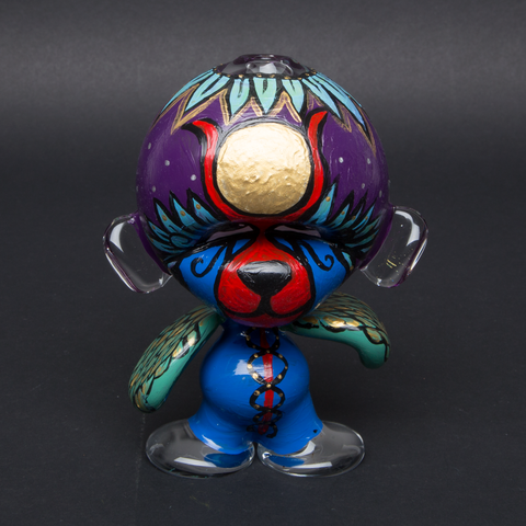 LUDA / STEF SKILLS HAND PAINTED GLASS MUNNY