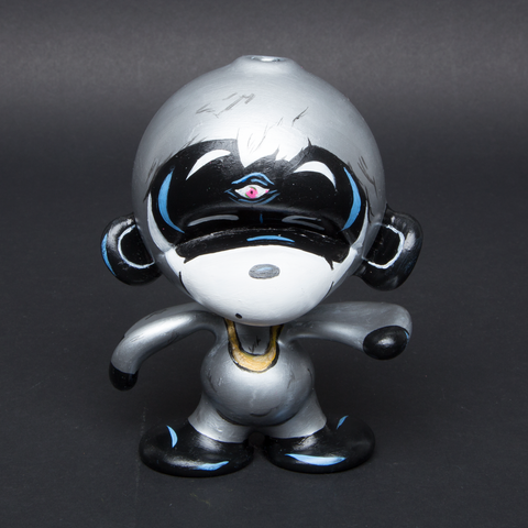 LUDA / ALI 6 HAND PAINTED GLASS MUNNY