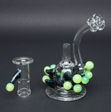 BEER GLASS TRICHOME RIG