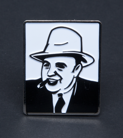 MADE AL CAPONE GHOST PIN