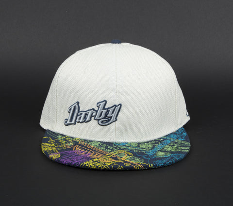 Darby White fitted