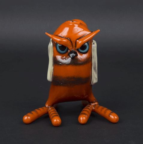 COLDBERGER / SHACKMAN HOTDOG OWL BUBBLER