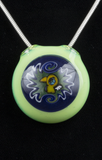 CALM / EROSS WINDOW BURD GLASS PENDANT