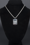 CAVER decepticon stainless steel dog tag