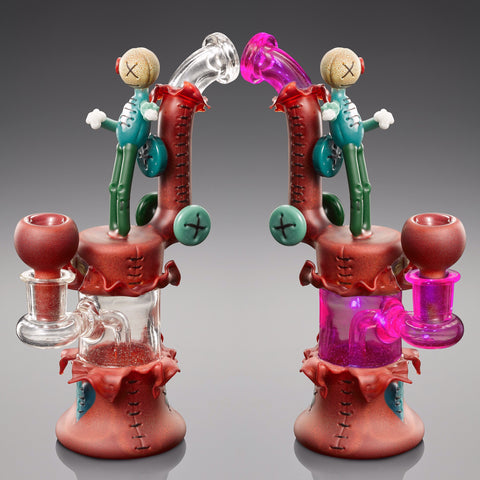 PETER MULLER TORN SERIES ELECTRIC FLAMINGO TUBE