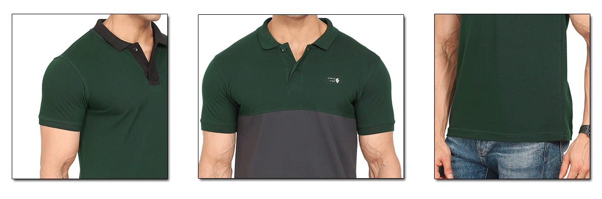 polo shirt body fit