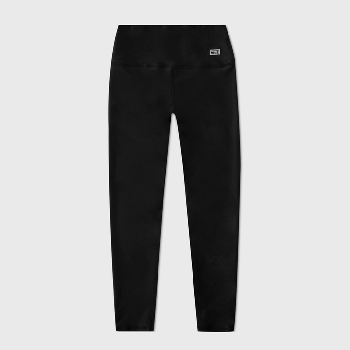 True Active Leggins Box Logo - Black (6068236353689)
