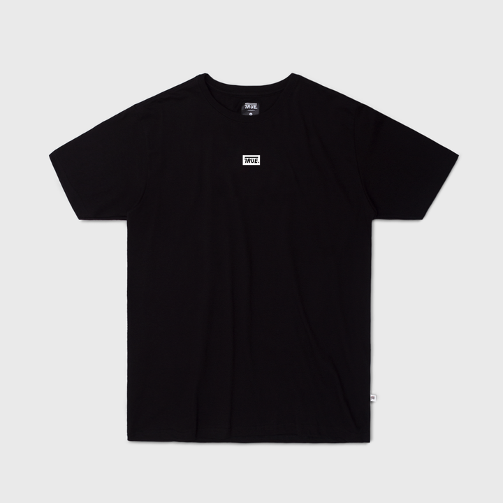 True Basic T-Shirt Box Logo - Black