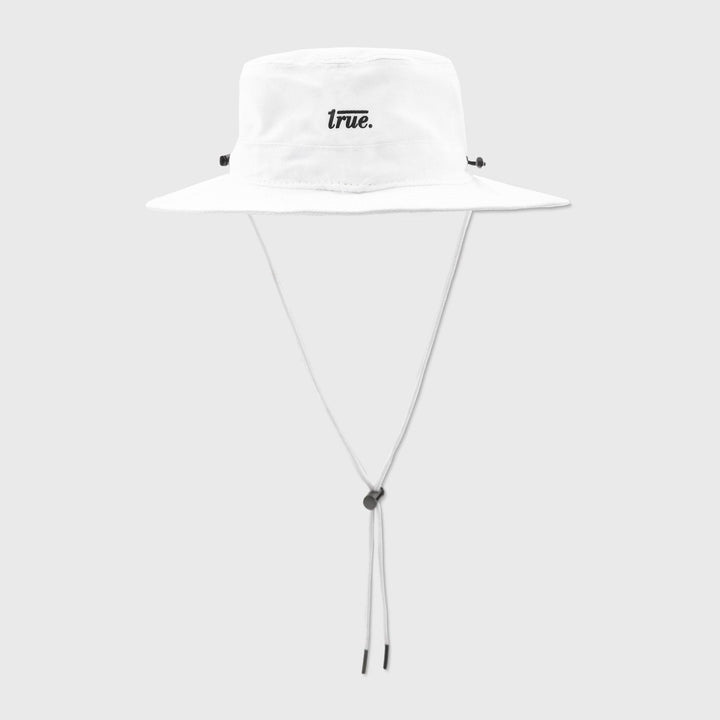 True Fisher Hat - White - TRUE.