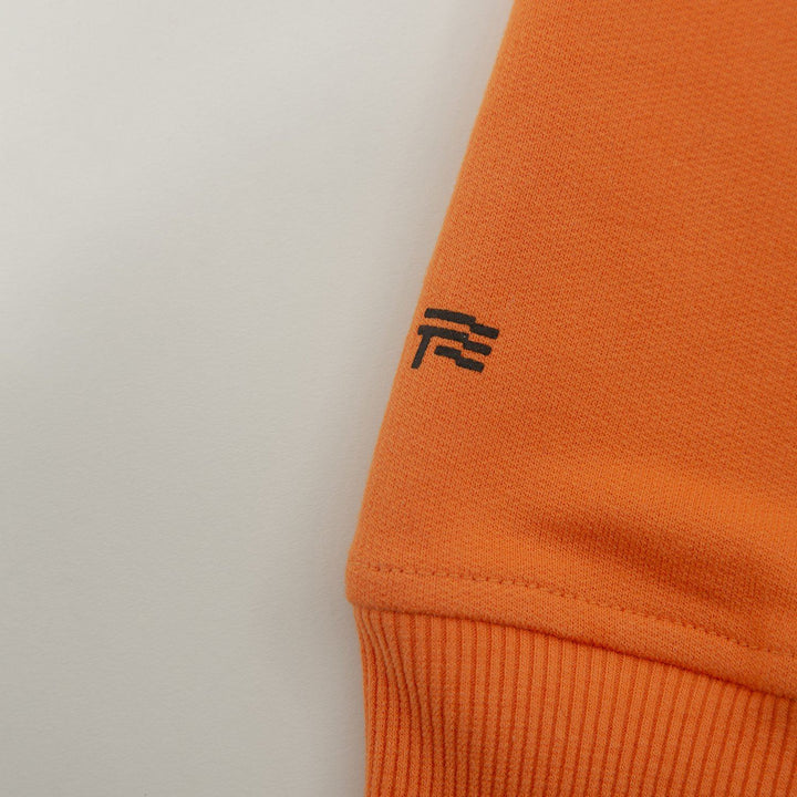 True Basic Hoodie - Orange