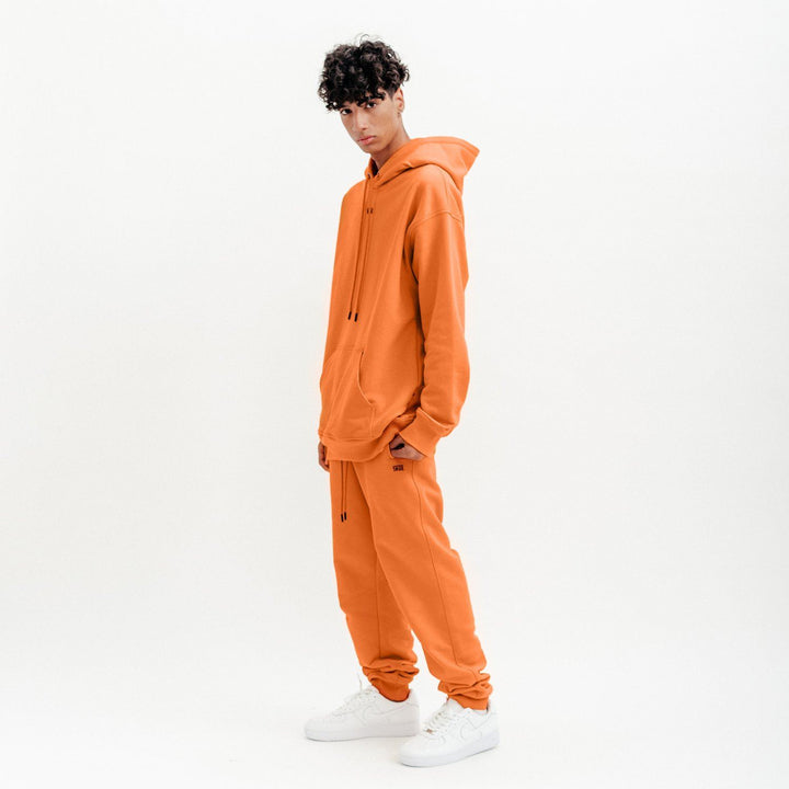 True Basic Hoodie - Orange (5735767376025)